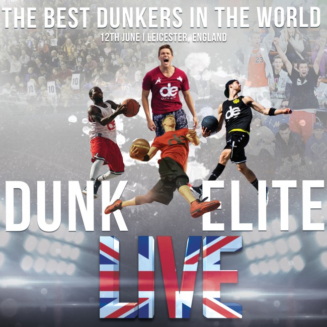 Dunk Elite launches Dunk Elite Live, international series of dunking events