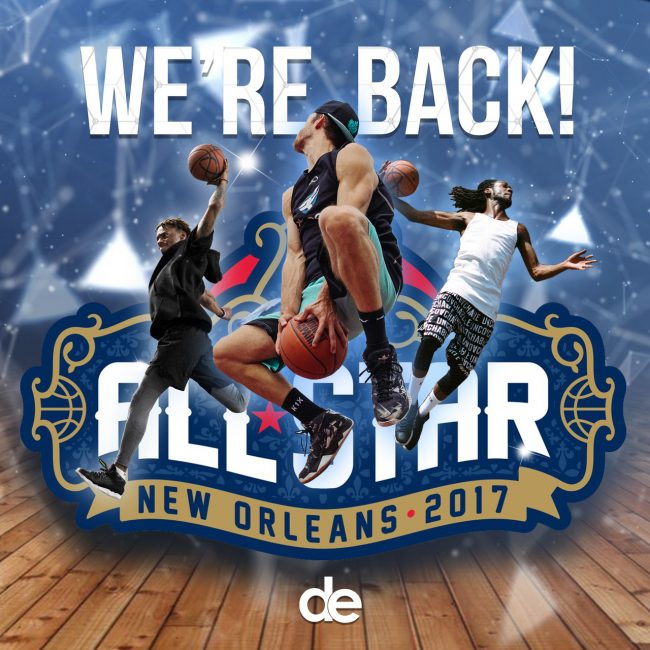 We're heading to the 2017 NBA All Star Weekend!